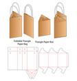 paper bag packaging die cut template design 3d mo