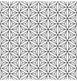 Seamless op art pattern vector image vector image