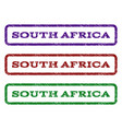 south africa watermark stamp vector image