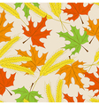 Autumn seamless pattern can be used for wallpaper vector image