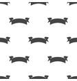 banner ribbon seamless pattern vector image vector image