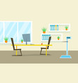 doctor office medical clinic cabinet flat vector image vector image
