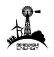 Eco energy design vector image vector image