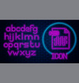glowing neon png file document download png
