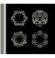 Mandala vintage decorative elements vector image vector image