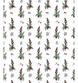 pattern grass and ladybirds vector image vector image