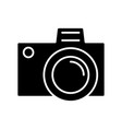 photo camera simple icon vector image vector image