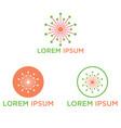 share profit icon logo design vector image vector image