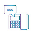telephone icon image vector image vector image