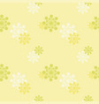 abstract light yellow background vector image vector image