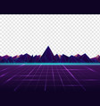 background in style 80s vector image