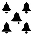 bell icons notification icon bell notification vector image vector image