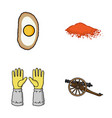 cooking beekeeping and other web icon in cartoon vector image vector image