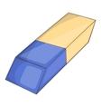 Eraser icon cartoon style vector image vector image
