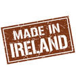 made in ireland stamp vector image vector image