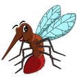 Mosquito cartoon vector image vector image