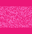 pink seamless pattern with glitter effect cute vector image