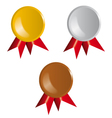 Awards Ribbons vector image