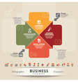Business Teamwork Concept Graphic Element vector image vector image
