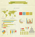eco infograpich vector image