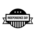 Independence Day - Fourth of July vintage stamp vector image vector image