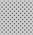 seamless black and grey pattern vector image