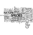 a lesson in sustainability text word cloud concept vector image vector image
