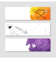 Banners for advertising professional accessories vector image vector image