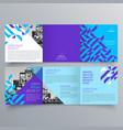 brochure design 803 vector image vector image