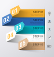 Business process abstract infographics template vector image