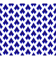 ceramic thai pattern blue and white vector image vector image