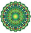 contour mandala vector image vector image
