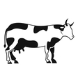 Cow icon simple style vector image