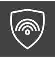 Protected Wifi vector image