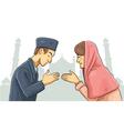 Ramadan Forgiveness vector image