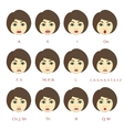 Set of Character Lip-Sync vector image