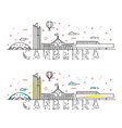 Weekend in Canberra Capital city of Australia vector image vector image