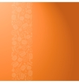 Backdrop with sweets vector image vector image
