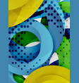 circle background design vector image vector image