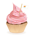 Cyprus Cupcake vector image vector image
