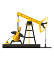 oil pump isolated vector image