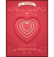 Phrase poster for valentines day vector image vector image
