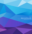 Polygon abstract background vector image