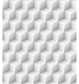 White geometric texture seamless background vector image