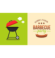barbecue concept vector image