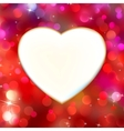 abstract heart card vector image