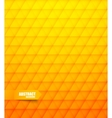 Abstract pattern in orange color vector image