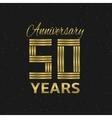 Anniversary vector image vector image