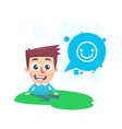 Good spirits in the park vector image vector image