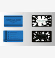 Modern creative and trending business visit cards